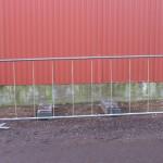 Guldgalvaniseret hegn 300 x 100 cm.