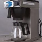 Kaffemaskine 1,8 liter med 2 plader og 2 kolber