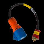 Adaptorkabel 16A 230V DK-CEE