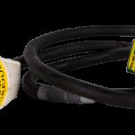 Adaptorkabel 13A 230V DK - Schuko