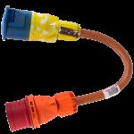 Adaptorkabel 32A 400V 5P CEE CEE 3P