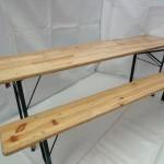 Bord bænkesæt med 2 løse bænke.