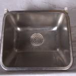 16225 - Håndvask - udslagsvask i rustfrit stål