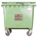 17080 Affaldscontainer 600 liter