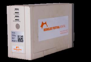 El - Roskilde Festival Rental, udlejning af UPS