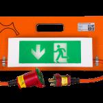 3100120 - Flugtvejsskilt (UD-lys) 230V med batteri