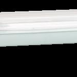 Lysstofarmatur 230V 1 x 36W CEE